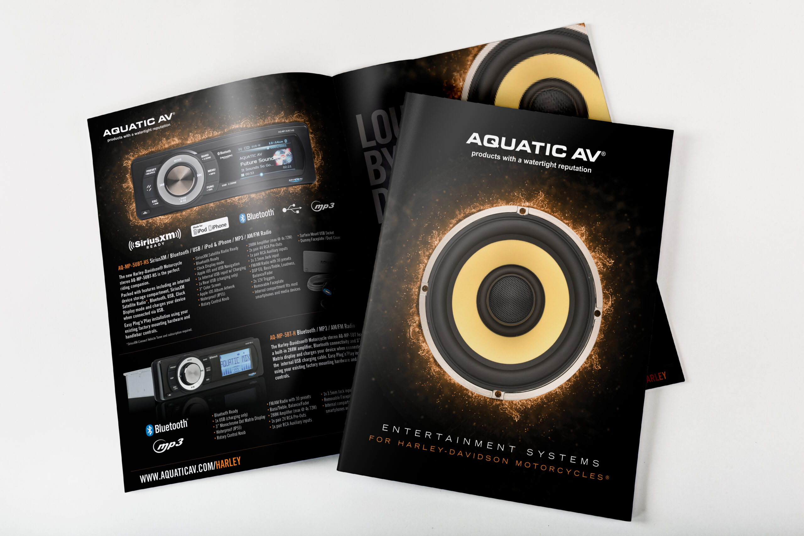Aquatic AV - Harley-Davidson Products Brochure