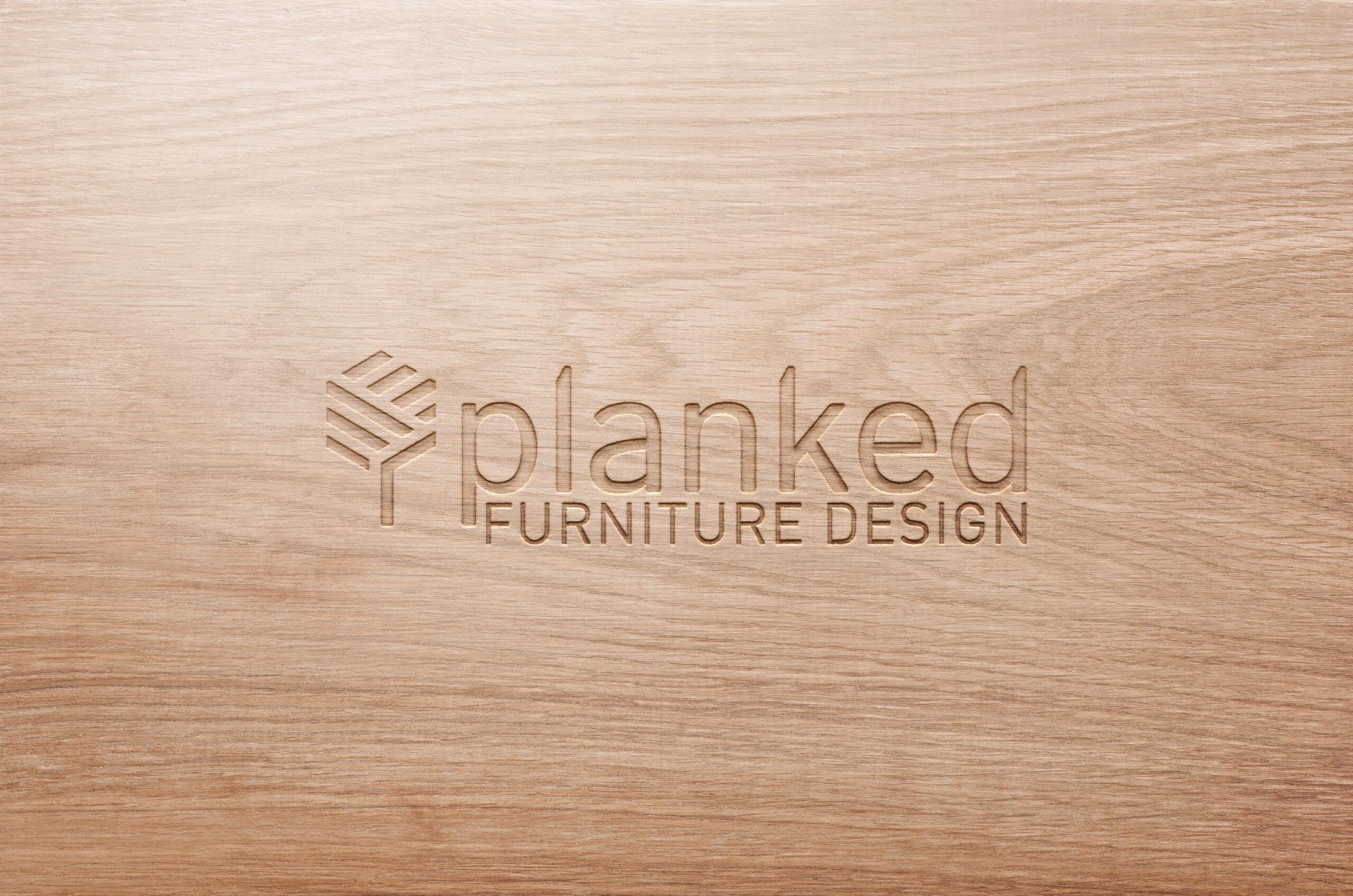 Planked Furniture Design - Logo