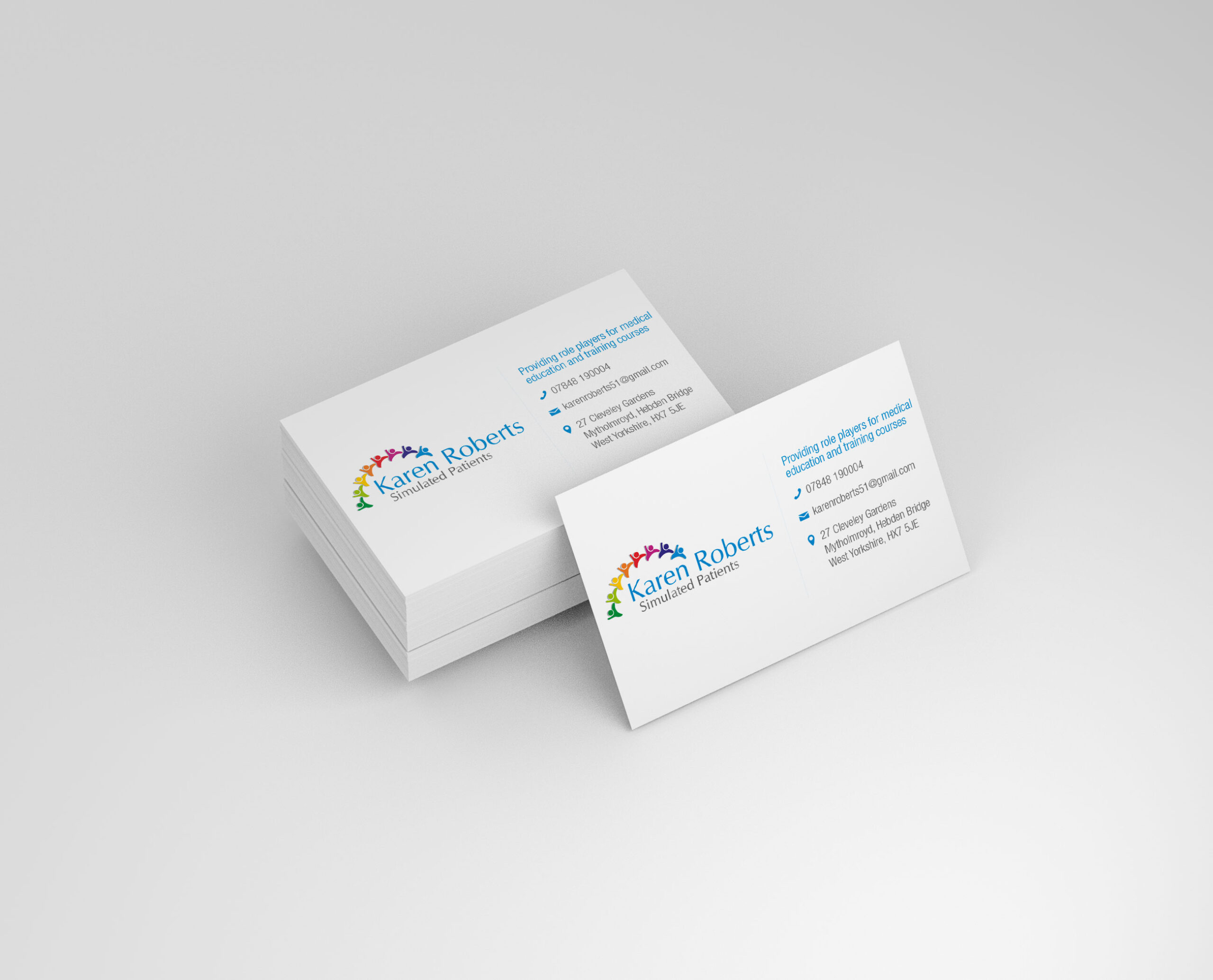 Simulated Patients - Logo & Business Card Design