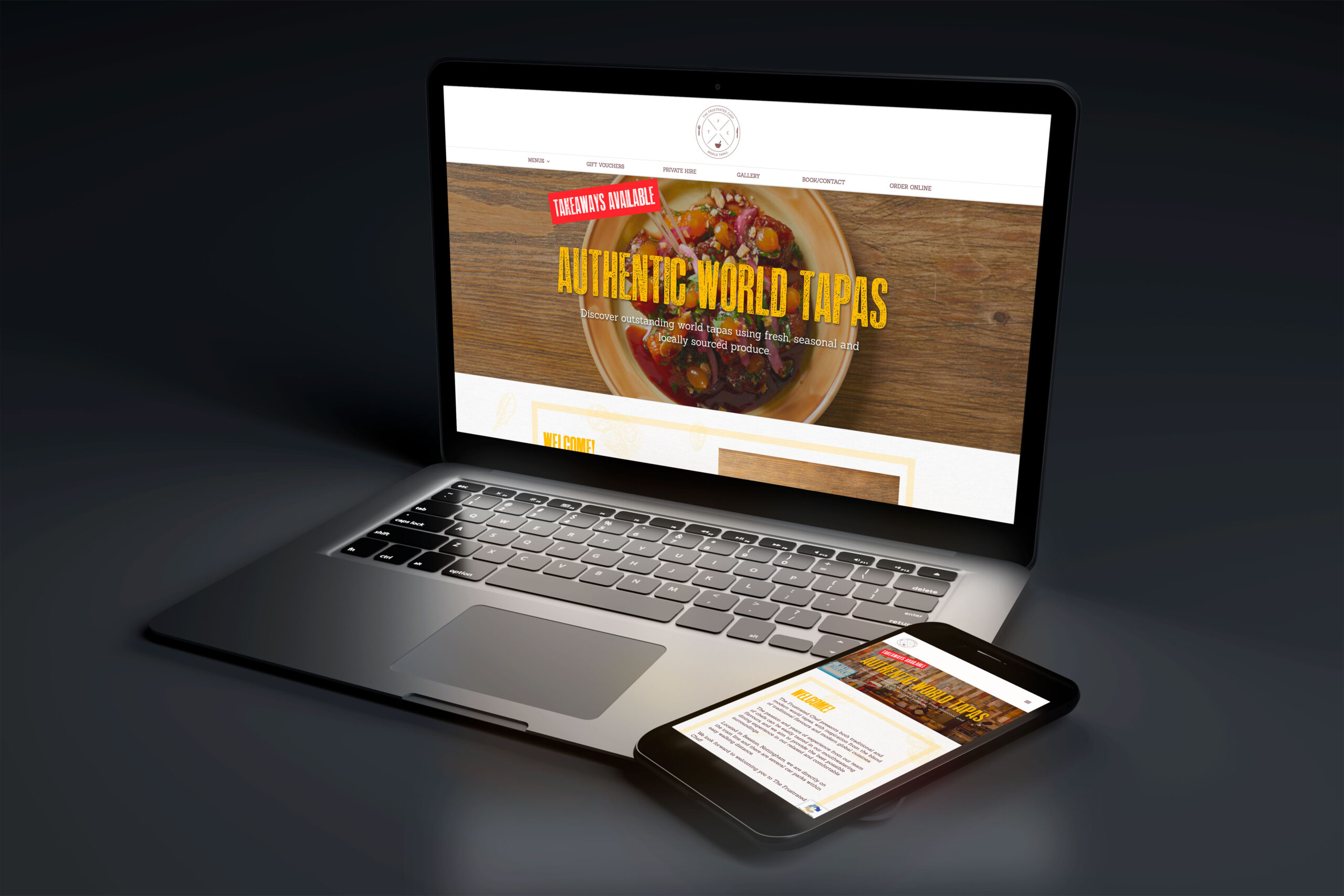 The Frustrated Chef - Website